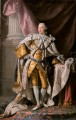King George III in coronation robes Allan Ramsay Portraiture Classicism