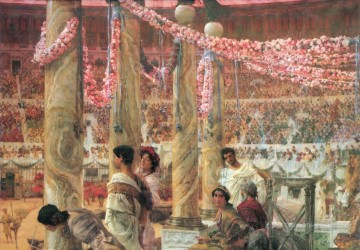 Caracalla and Geta Romantic Sir Lawrence Alma Tadema Oil Paintings
