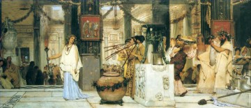 Festival Art - The Vintage Festival Romantic Sir Lawrence Alma Tadema