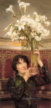 Lawrence Canvas - Flag Of Truce Romantic Sir Lawrence Alma Tadema