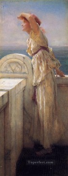 Lawrence Canvas - Hopeful Romantic Sir Lawrence Alma Tadema