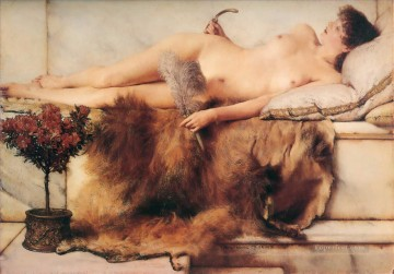 In the Tepidarium Romantic Sir Lawrence Alma Tadema Oil Paintings