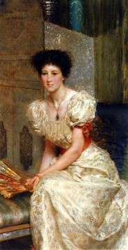 mrs - Portrait Of Mrs Charles Wyllie Romantic Sir Lawrence Alma Tadema