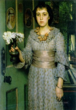 Lawrence Canvas - Portrait of Anna Alma Tadema Romantic Sir Lawrence Alma Tadema