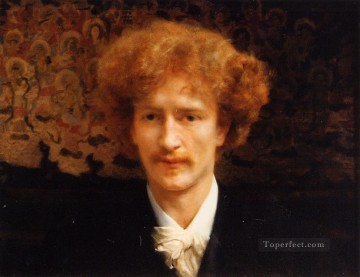 Lawrence Canvas - Portrait of Ignacy Jan Paderewski Romantic Sir Lawrence Alma Tadema