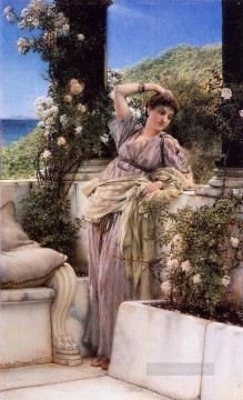 Lawrence Canvas - Rose of All Roses2 Romantic Sir Lawrence Alma Tadema