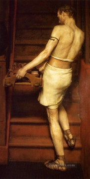 Romanticism Art Painting - The Potter Romanticism Sir Lawrence Alma Tadema