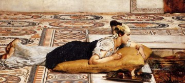 pets Painting - Water Pets Romantic Sir Lawrence Alma Tadema