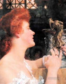 Hour Painting - golden hour Romantic Sir Lawrence Alma Tadema