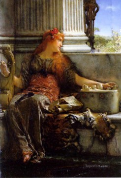 Lawrence Canvas - poetry Romantic Sir Lawrence Alma Tadema
