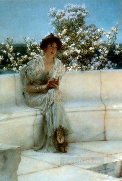 spring - the years at the spring Romantic Sir Lawrence Alma Tadema