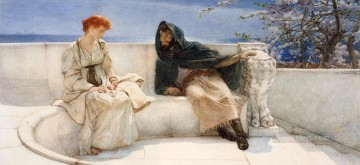 A Declaration Romantic Sir Lawrence Alma Tadema Oil Paintings