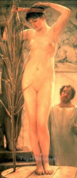 Romanticism Art Painting - A Sculptors Model Romanticism Sir Lawrence Alma Tadema