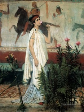 Lawrence Canvas - A greek woman Romantic Sir Lawrence Alma Tadema