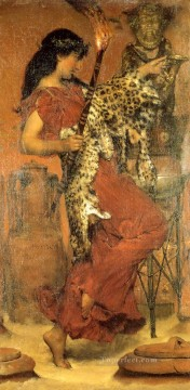 Lawrence Canvas - Autumn Vintage Festival Romantic Sir Lawrence Alma Tadema