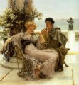Courtship the Proposal Romantic Sir Lawrence Alma Tadema