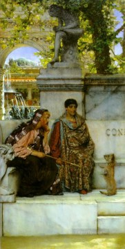 Constant Canvas - In the Time of Constantine Romantic Sir Lawrence Alma Tadema