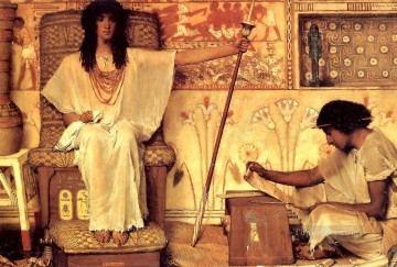 Joseph Overseer of the Pharoahs Granaries Romantic Sir Lawrence Alma Tadema Oil Paintings