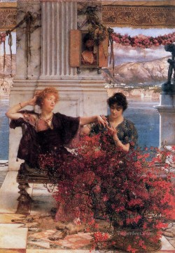 Lawrence Canvas - Loves Jewelled Fetter Romantic Sir Lawrence Alma Tadema