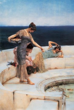Lawrence Canvas - Silver Favourites Romantic Sir Lawrence Alma Tadema
