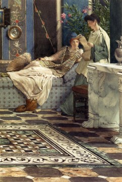 Lawrence Canvas - Sir Lawrence From An Absent One Romantic Sir Lawrence Alma Tadema