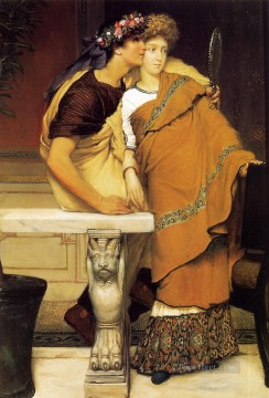 Lawrence Canvas - The Honeymoon Romantic Sir Lawrence Alma Tadema