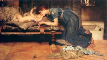 Lawrence Canvas - an earthly paradise Romantic Sir Lawrence Alma Tadema
