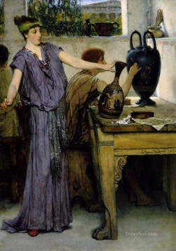 painting Oil Painting - pottery painting Romantic Sir Lawrence Alma Tadema