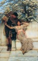 promise of spring Romantic Sir Lawrence Alma Tadema