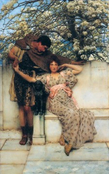 spring - promise of spring Romantic Sir Lawrence Alma Tadema