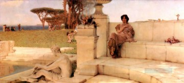 Lawrence Canvas - the voice of spring Romantic Sir Lawrence Alma Tadema