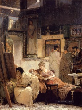 Lawrence Canvas - A Picture Gallery Romantic Sir Lawrence Alma Tadema