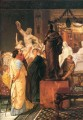 A sculpture gallery Romantic Sir Lawrence Alma Tadema