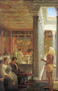 Lawrence Canvas - Egyptian juggler Romantic Sir Lawrence Alma Tadema