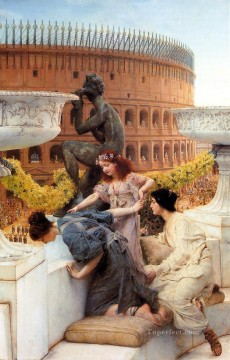 Lawrence Canvas - The Coliseum Romantic Sir Lawrence Alma Tadema
