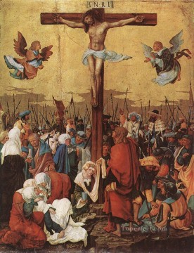 Denis van Alsloot Painting - Christ On The Cross 1520 Flemish Denis van Alsloot