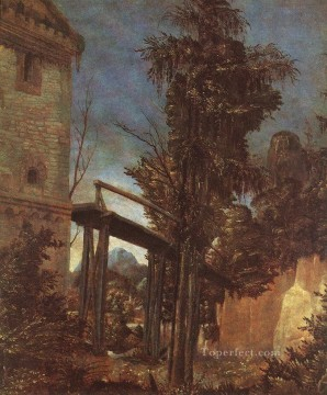 Denis van Alsloot Painting - Landscape With Path Flemish Denis van Alsloot