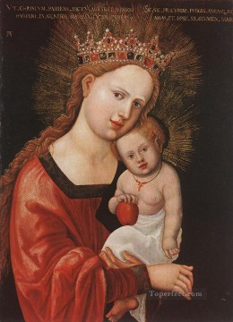 Denis van Alsloot Painting - Mary With The Child Flemish Denis van Alsloot