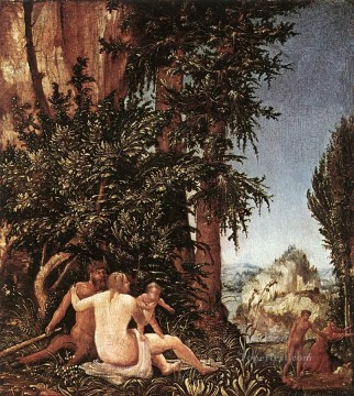 Denis van Alsloot Painting - Landscape With Satyr Family Flemish Denis van Alsloot
