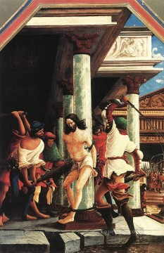 baptism of christ Painting - The Flagellation Of Christ Flemish Denis van Alsloot