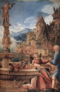 Denis van Alsloot Painting - Rest On The Flight Into Egypt Flemish Denis van Alsloot