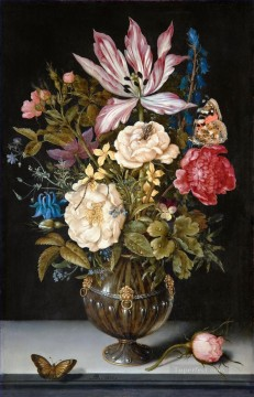 still life lifes Painting - Still Life with flowers Ambrosius Bosschaert