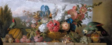 Ambrosius Bosschaert Painting - the elder still life of flowers Ambrosius Bosschaert