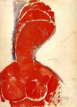 nude bust 1915 Amedeo Modigliani Oil Paintings