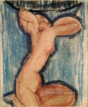 caryatid 1911 Amedeo Modigliani Oil Paintings