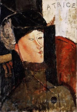 portrait of beatrice hastings 1916 1 Amedeo Modigliani Oil Paintings