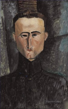 andr rouveyre by amedeo modigliani 1884 1920 Amedeo Modigliani Oil Paintings