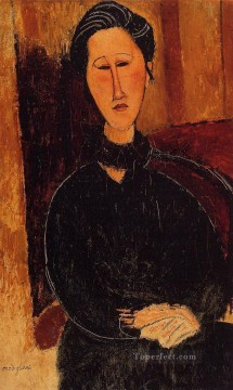 Amedeo Modigliani Painting - anna hanka zabrowska 1916 Amedeo Modigliani