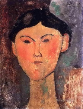Amedeo Oil Painting - beatrice hastings 1915 1 Amedeo Modigliani