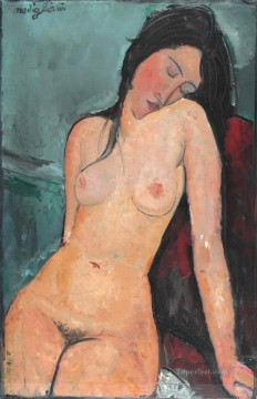 Female nude Iris Tree Amedeo Modigliani Oil Paintings